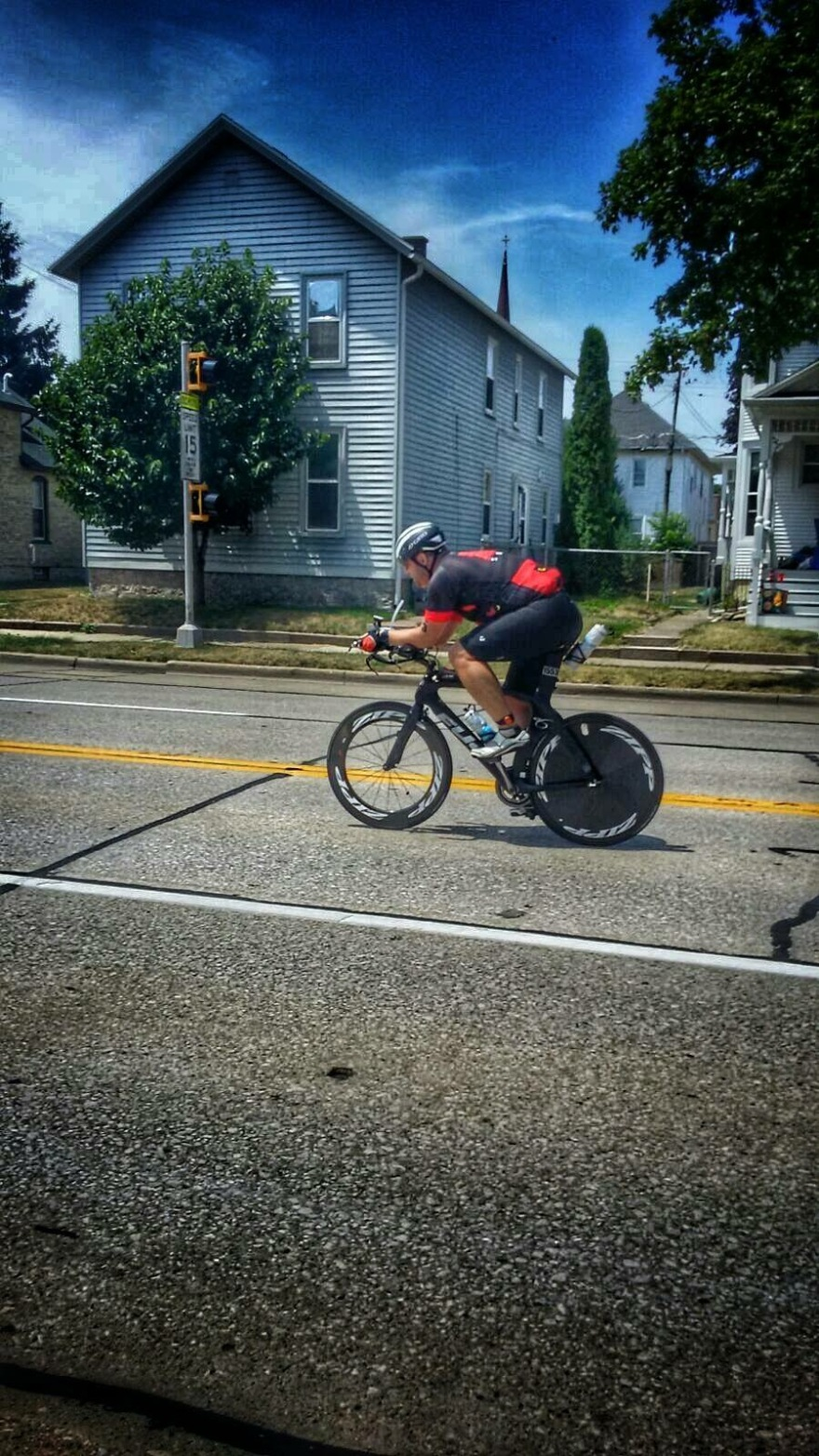 IMR70.3 bike